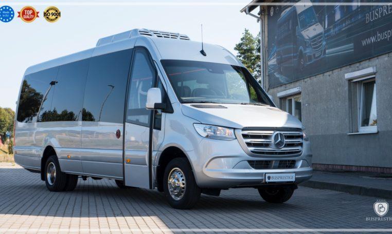 mercedes bus in tourist version