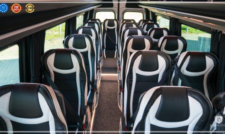 mercedes bus in tourist version 19 pax