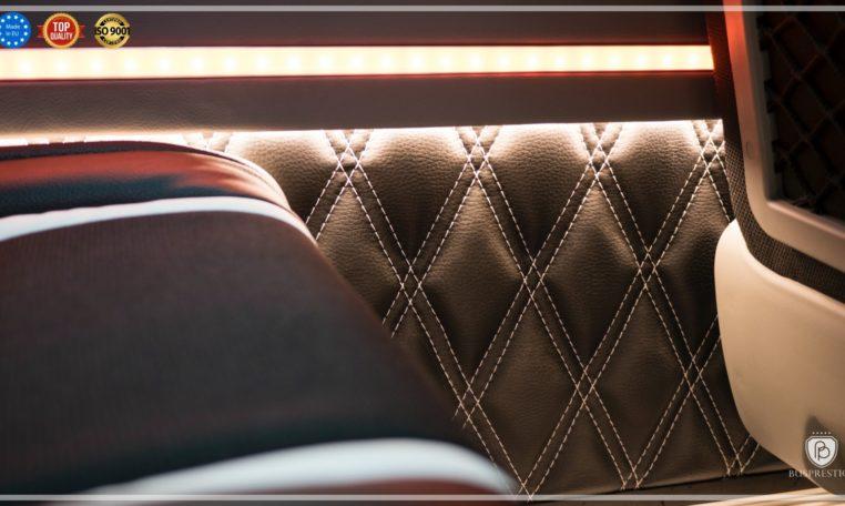 mercedes bus wall luxury trim