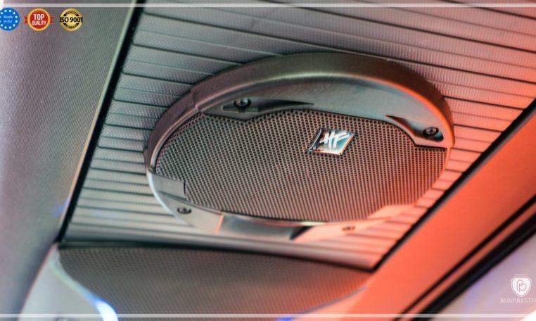 mercedes bus loud speaker