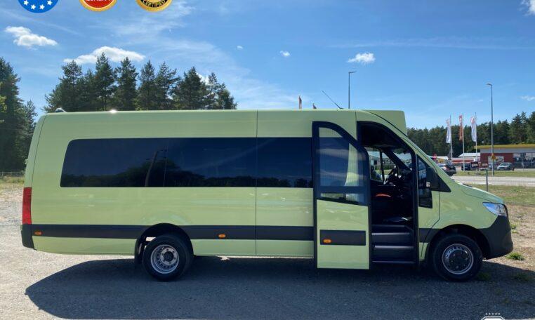 mercedes benz sprinter busprestige urban bp 435 limonka